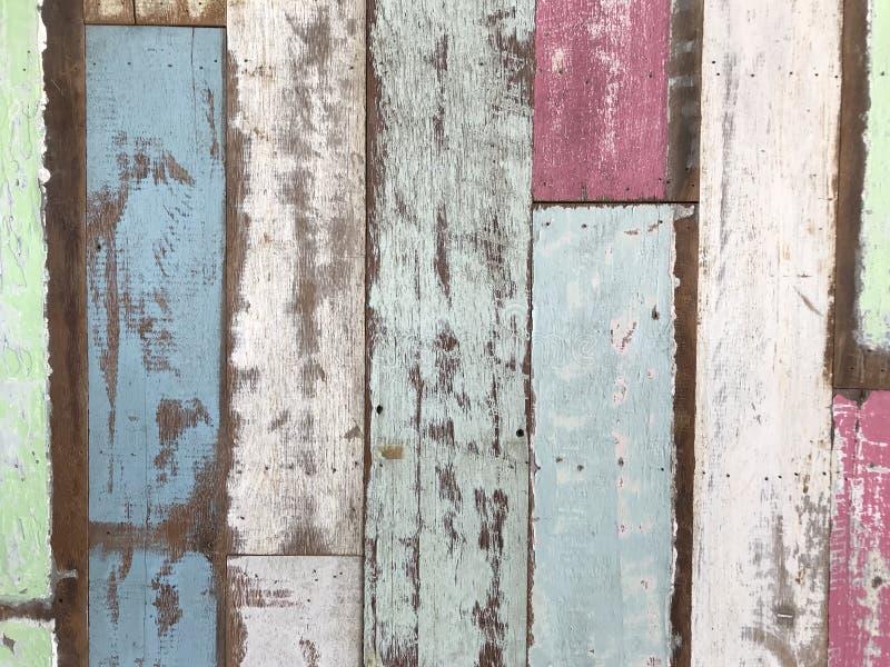 Fond matériel en bois pour le papier peint de vintage image libre de droits