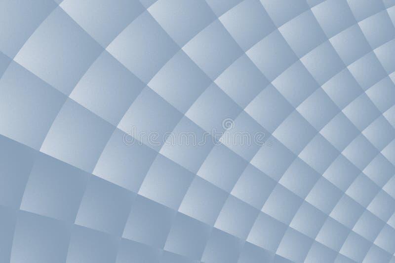Fond mat de fractale de gris en acier avec une structure fine et un modèle carré tordu illustration stock