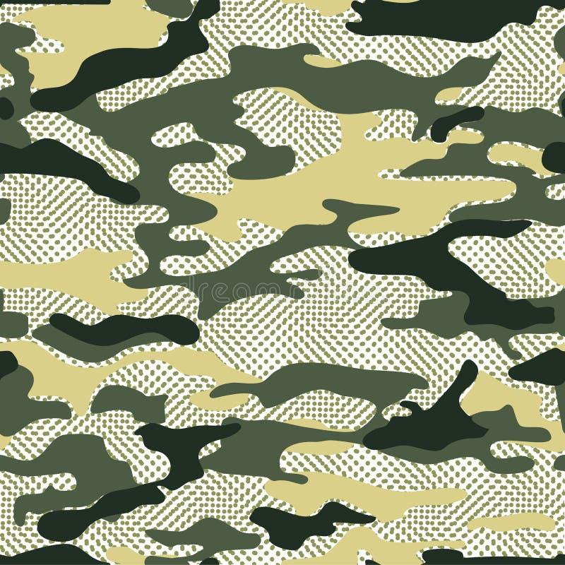Fond militaire de camo illustration libre de droits