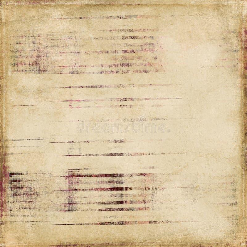 Fond minable d'album à piste d'antiquité de cru image stock