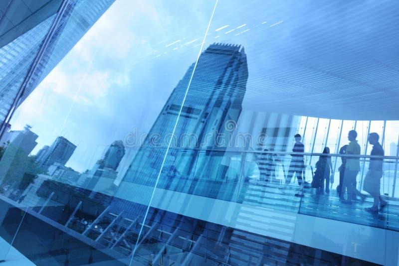 Fond moderne abstrait de ville image libre de droits