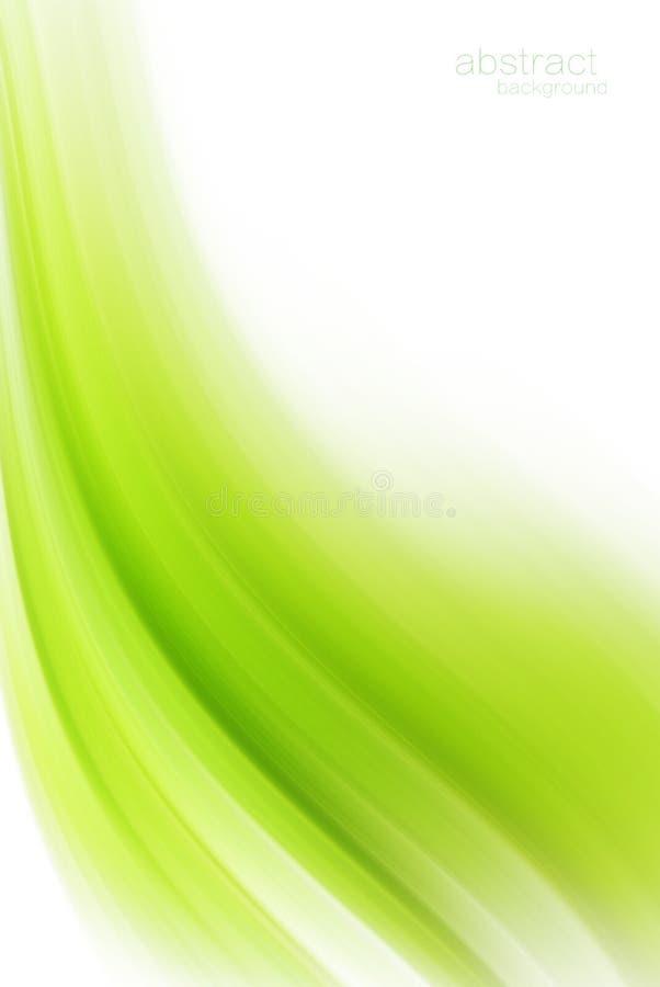 Fond moderne avancé d'abrégé sur technologie de vert illustration de vecteur
