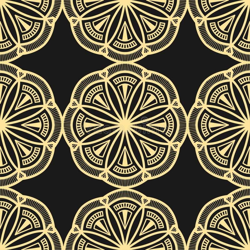 Fond moderne d'Art Deco illustration stock