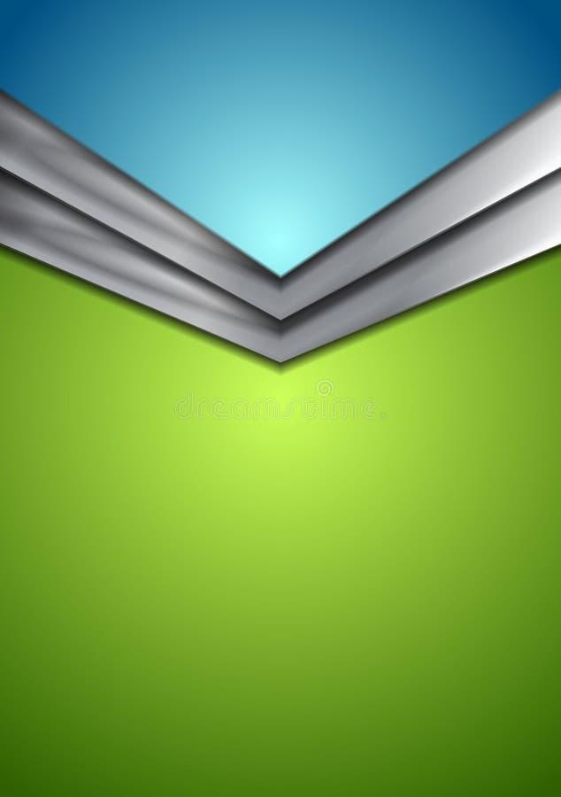 Fond moderne d'entreprise abstrait avec la flèche illustration de vecteur