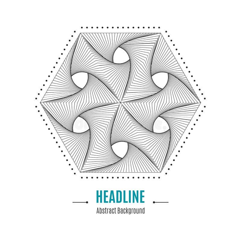 Fabulous Fond Moderne De Forme Géométrique Abstraite Hexagonale Du Vecteur  FW16
