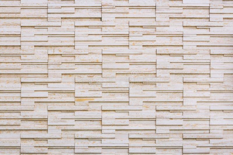 Fond moderne de mur en pierre de brique photographie stock libre de droits