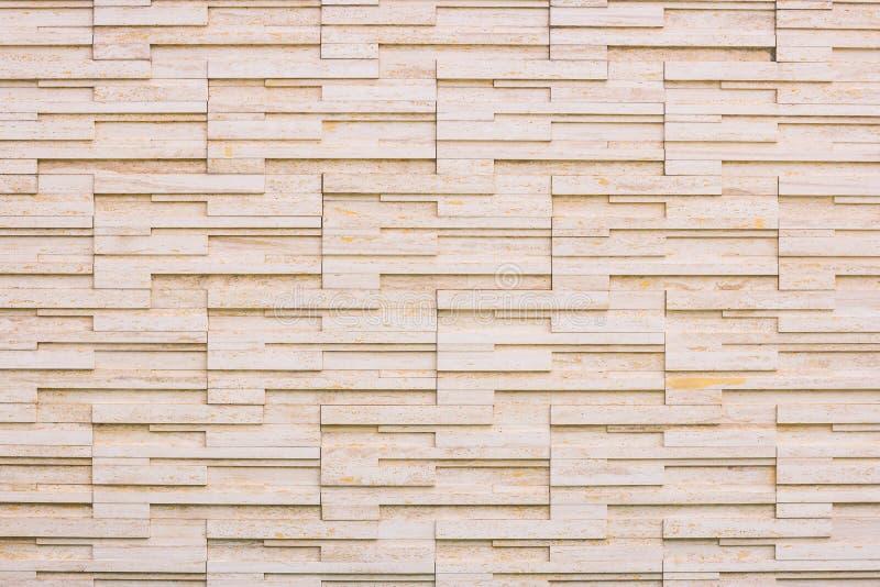 Fond moderne de mur en pierre de brique image libre de droits