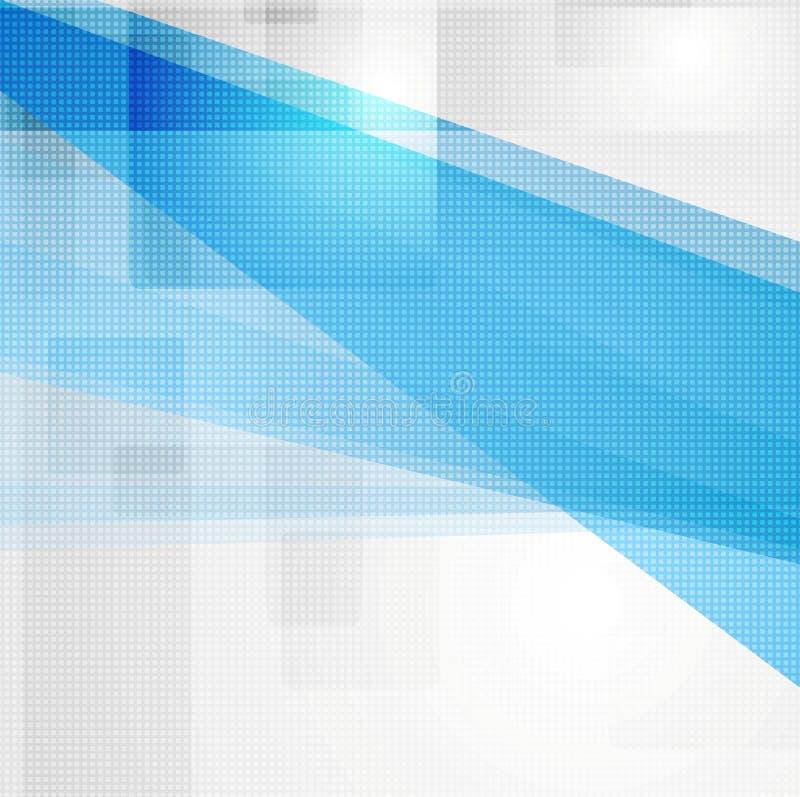 Fond moderne de pointe lumineux illustration de vecteur