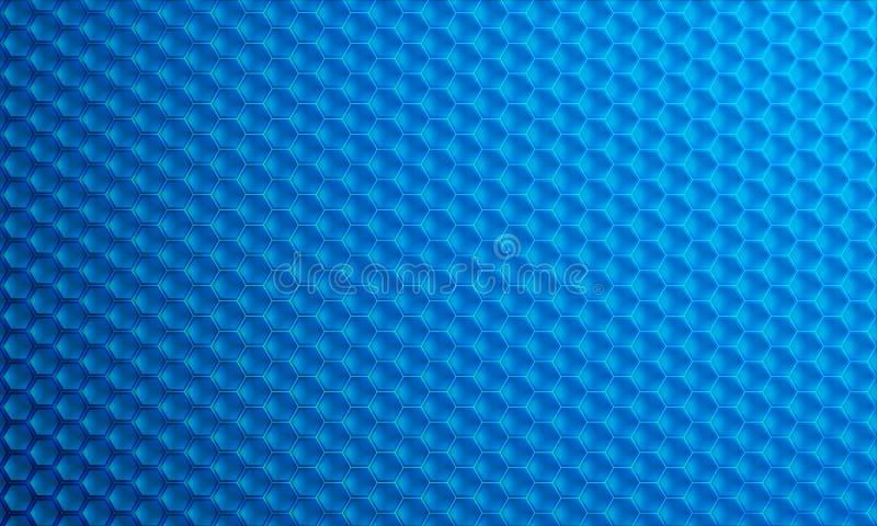 Fond moderne du vecteur 3D d'hexagone Éléments géométriques pour votre conception, fond moderne de technologie numérique illustration de vecteur
