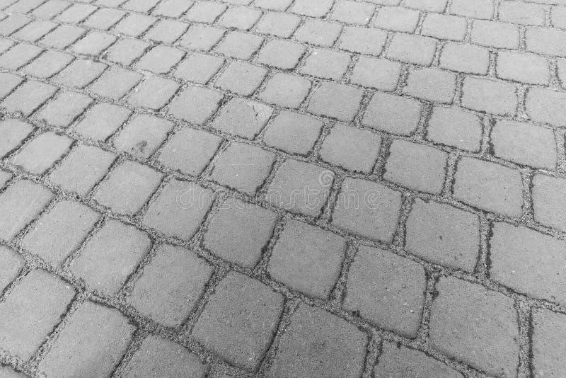 Fond monochrome avec les pavés photo libre de droits