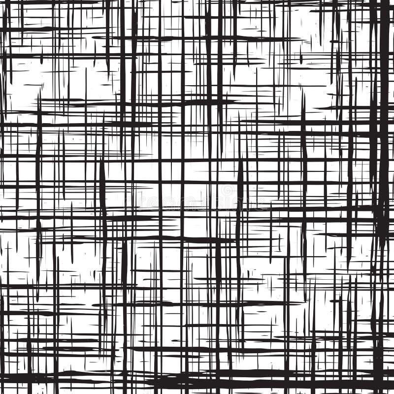 Fond monochrome d'illustration d'abrégé sur grunge grille photos libres de droits