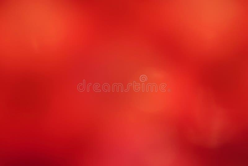 Fond mou rouge, fond mou brouillé de gradient rouge, fond mou coloré d'abrégé sur bokeh d'ombre de lumière rouge image libre de droits