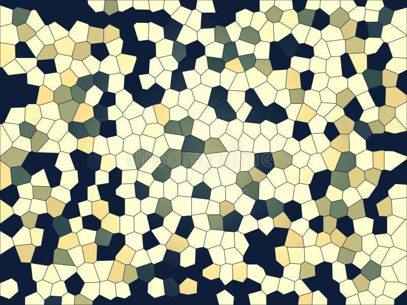 Fond multicolore abstrait Beaux milieux de mosaïque illustration stock