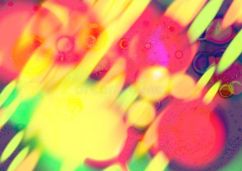 Fond multicolore abstrait Fond abstrait defocused de gradient Texture de mur photos stock