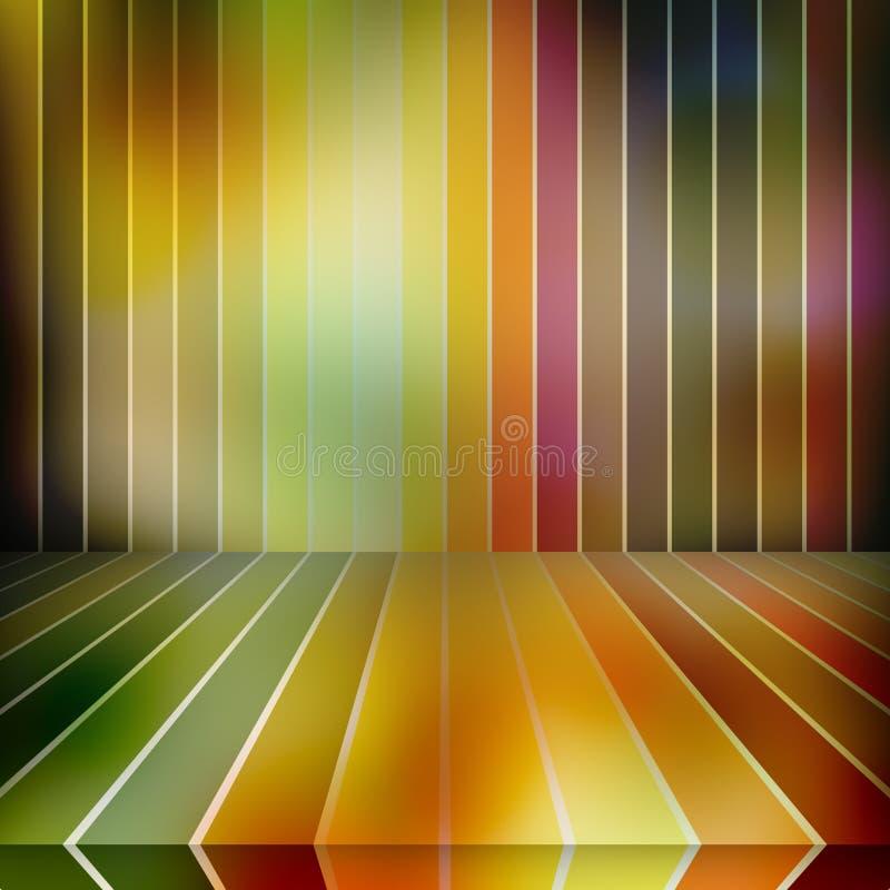 Fond multicolore de cru illustration libre de droits