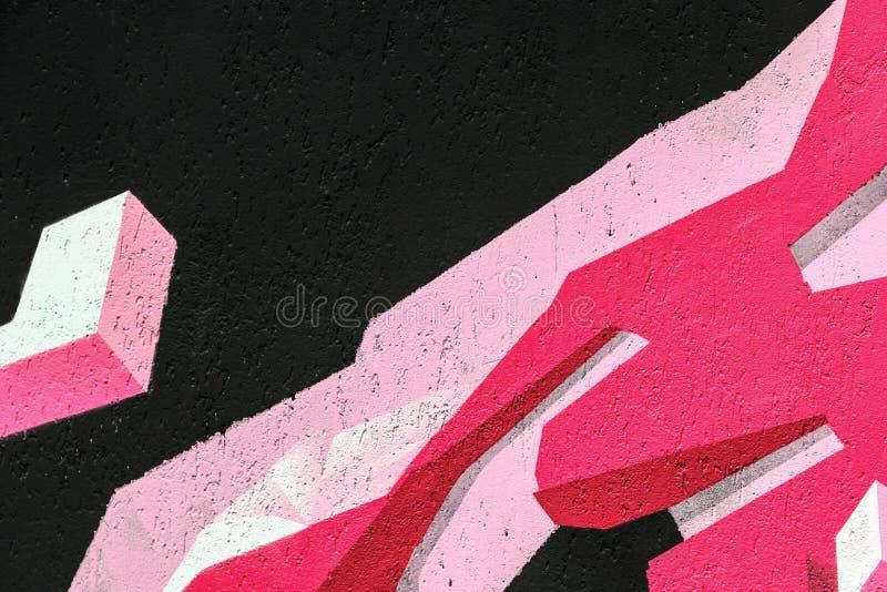 Fond mural de texture de détail d'art urbain photographie stock libre de droits