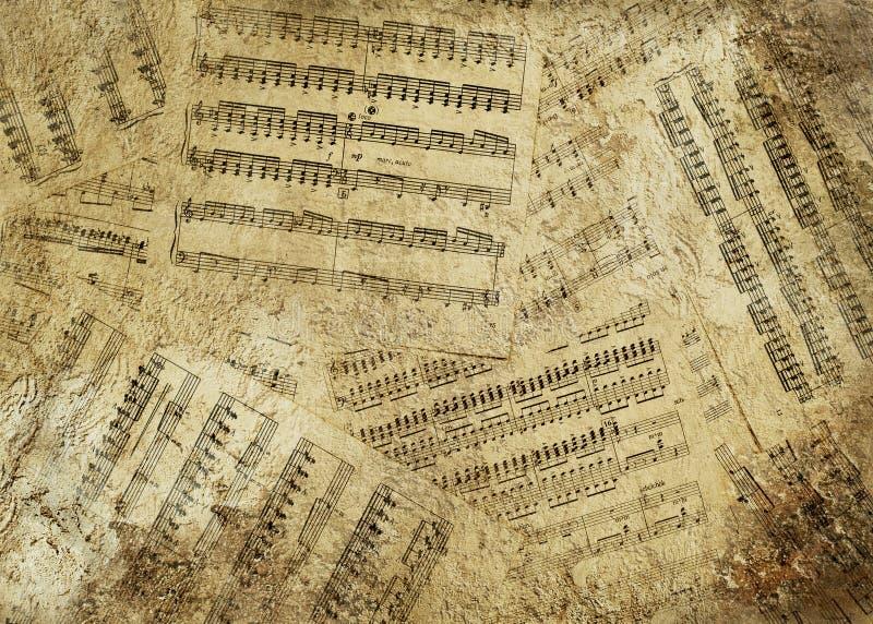 Fond musical image libre de droits