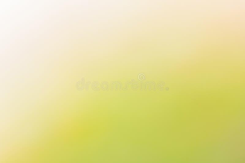 Fond naturel abstrait jaune et vert photographie stock