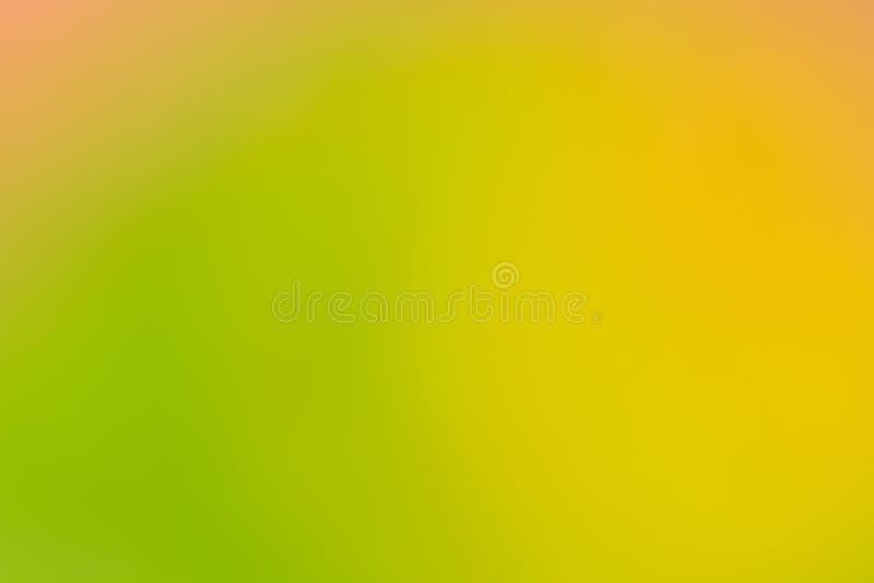 Fond naturel abstrait jaune et vert photo libre de droits