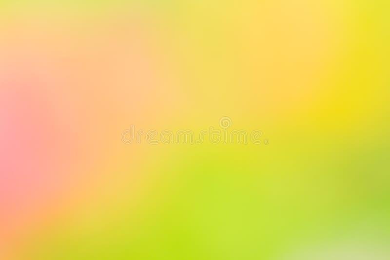 Fond naturel abstrait jaune et vert photos stock