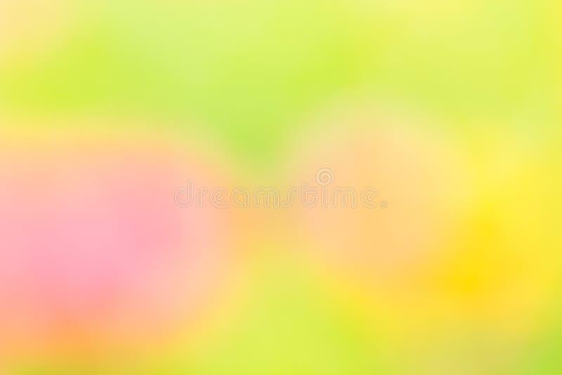 Fond naturel abstrait jaune et vert image stock
