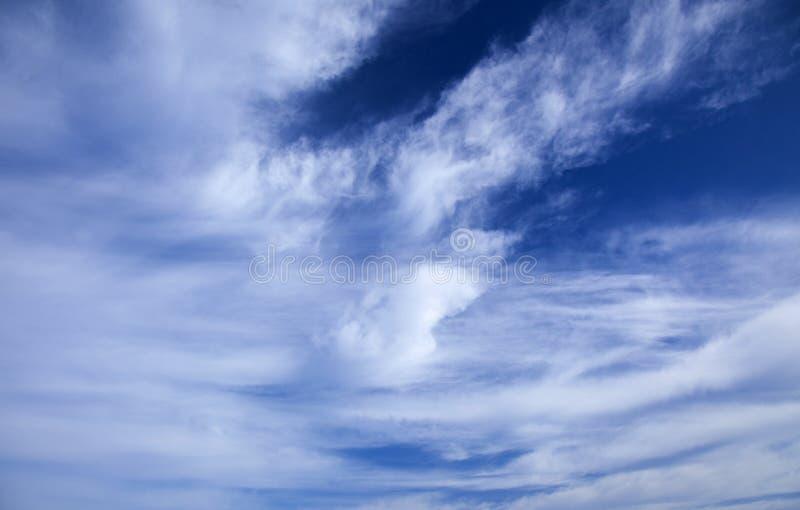 Fond naturel de ciel et de nuages images stock