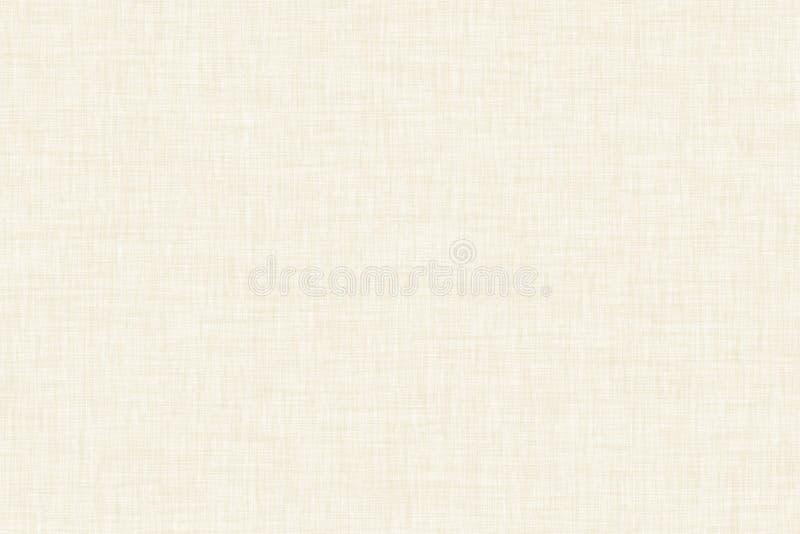 Fond naturel de toile de modèle coloré par beige illustration libre de droits