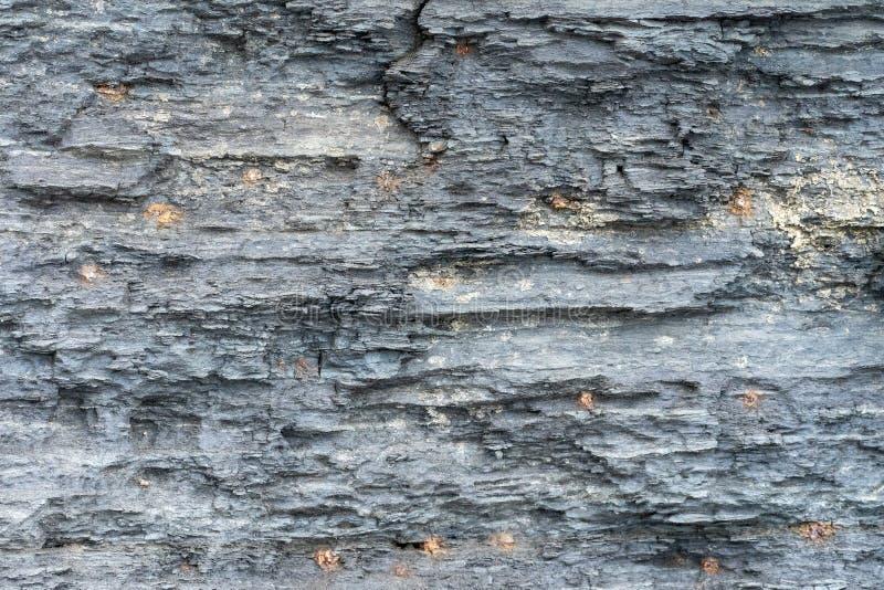 Fond naturel Texture des couches grises de grès image stock