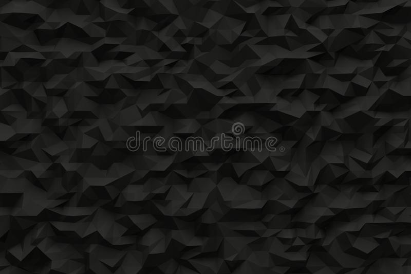 Fond noir abstrait illustration stock