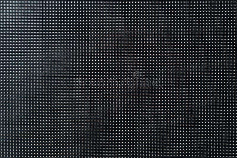 Fond noir abstrait, texture, panneau léger du fond LED photo libre de droits