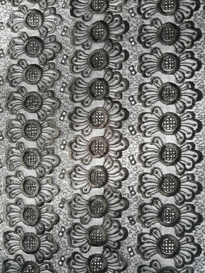 Fond noir de lacet photo stock