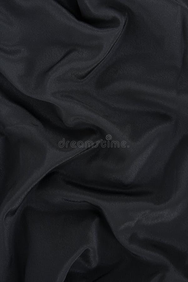 Fond noir de satin photos libres de droits