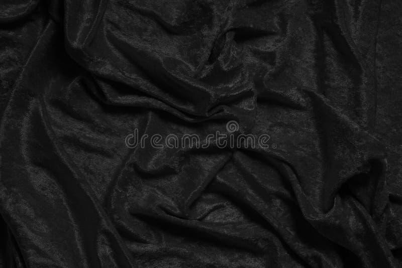 Fond noir de velours images libres de droits