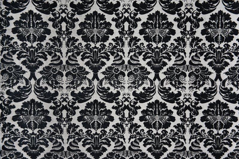 Fond noir et blanc de Barock photos libres de droits