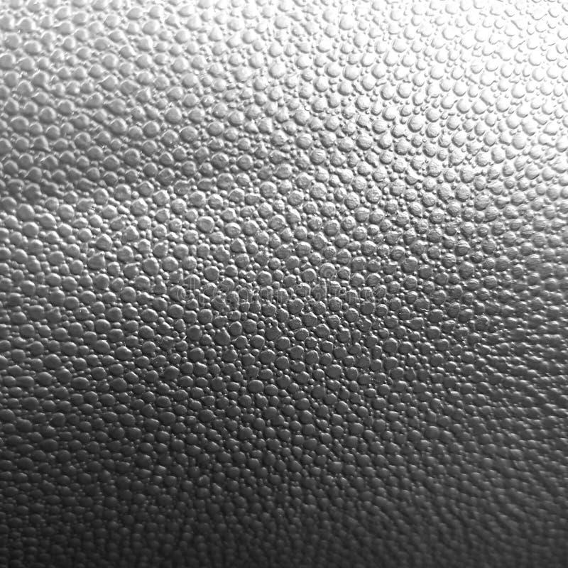 Fond noir et blanc de texture en cuir photo stock