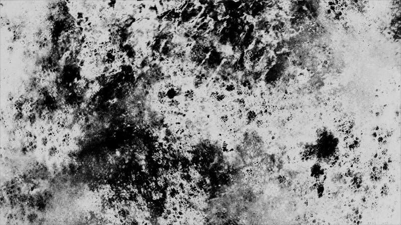 Fond noir et blanc grunge de texture de mur illustration de vecteur
