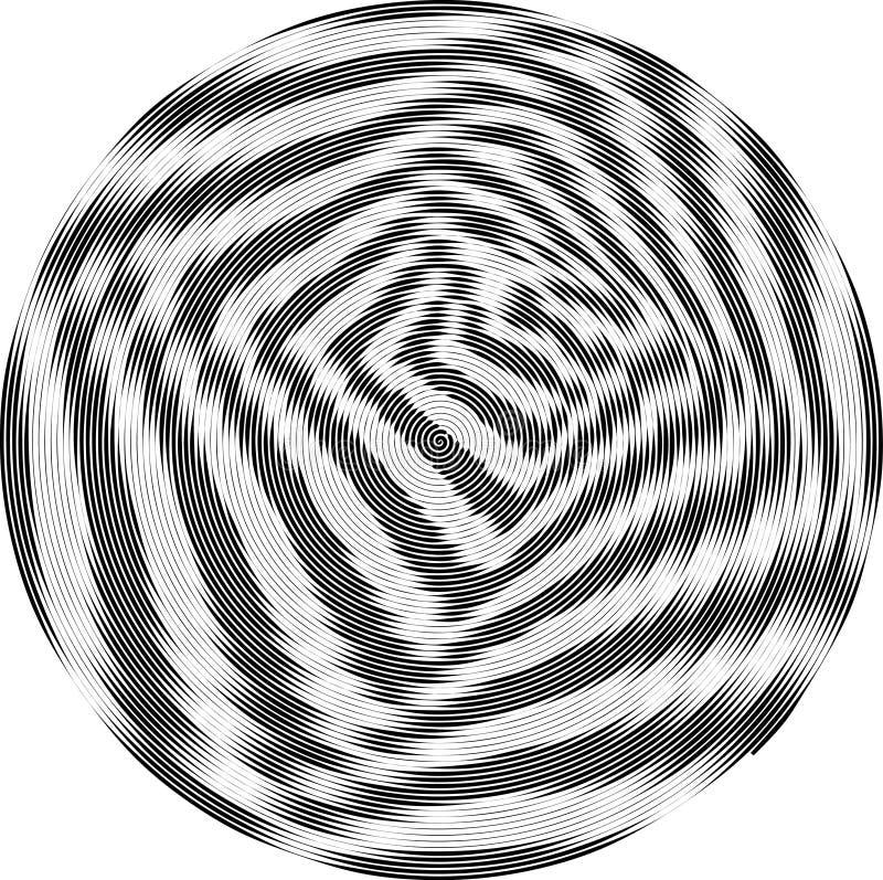 Fond noir et blanc pointillé par résumé Modèle affligé par image tramée Texture grunge de petits points et particules ronds malpr illustration stock