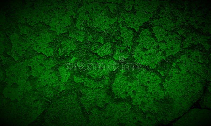 Fond noir et vert-foncé abstrait de texture illustration de vecteur
