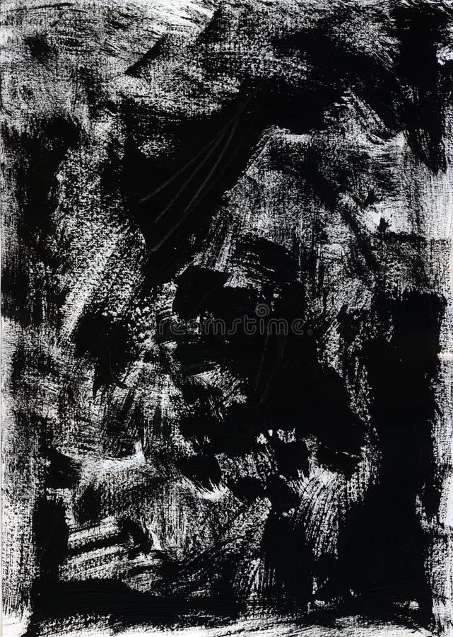 Fond noir grunge photo stock
