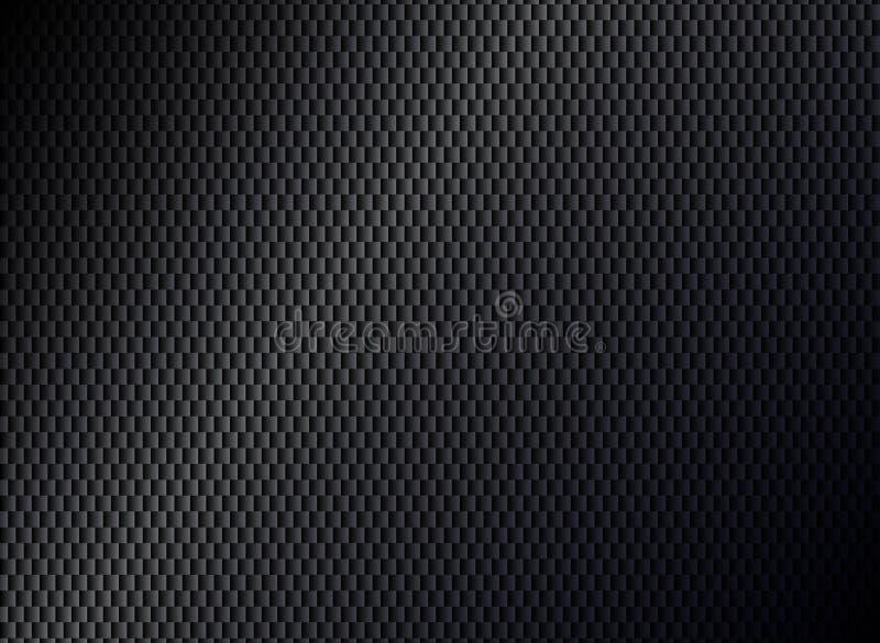 Fond noir métallique abstrait illustration de vecteur