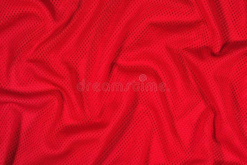 Fond non-tissé de tissu chiffonné par rouge photo stock