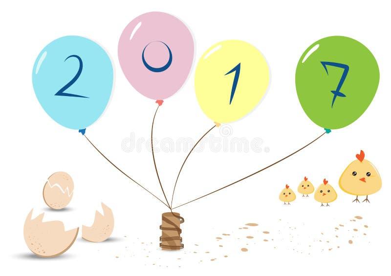 Fond, nouvelle année, célébration images stock