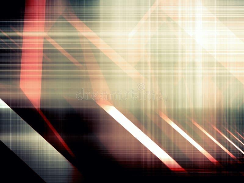 Fond numérique artistique abstrait, de pointe illustration stock