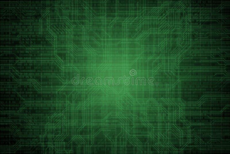Fond num?rique abstrait avec le code binaire Pirates informatiques, darknet, r?alit? virtuelle et science-fiction illustration libre de droits