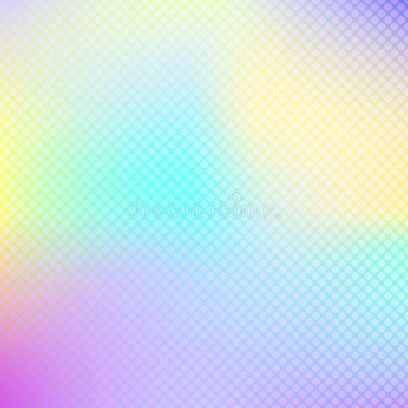 Fond olographe abstrait Hologramme pour des bannières de conception, sites Web illustration stock
