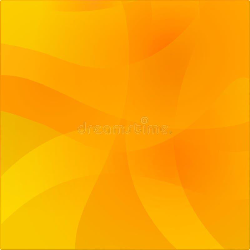 Fond ondulé abstrait Surface colorée de gradient de lueur pour la conception illustration stock