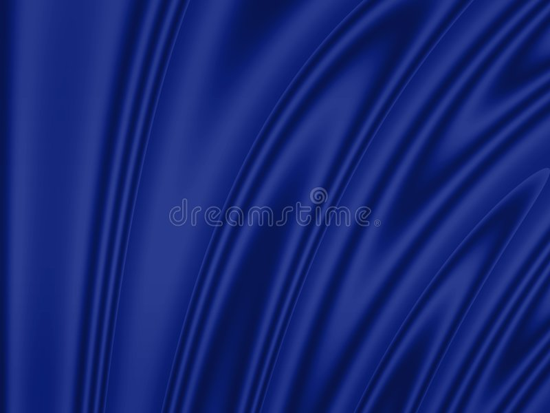 Fond ondulé : bleu illustration de vecteur