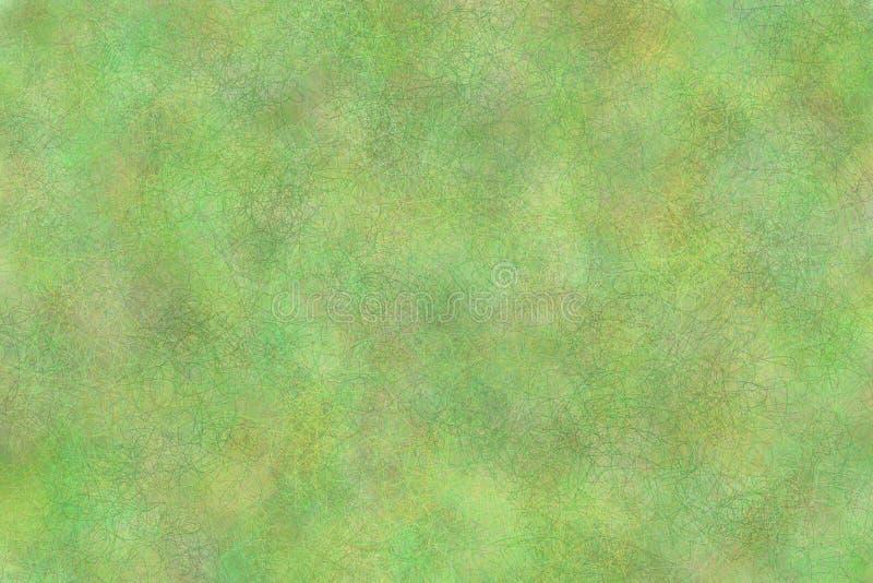 Fond ondulé vert illustration stock