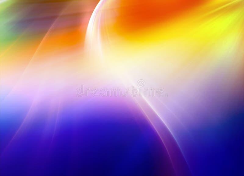 Fond onduleux abstrait dans beaucoup de couleurs image libre de droits