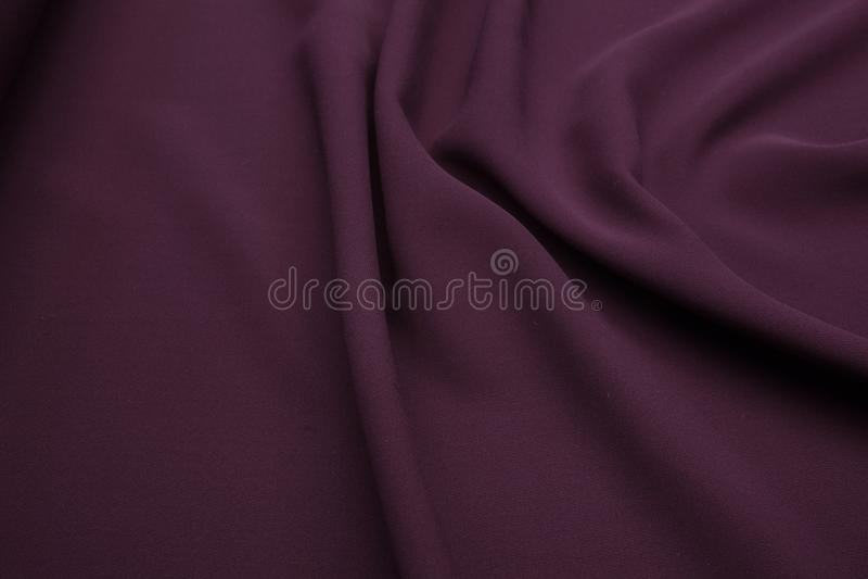 Fond onduleux de texture de plan rapproché de tissu photo libre de droits
